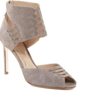 Suede Heels Stilettos Haute Couture vero cuoio 7
